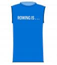 T-Shirt – M.A.W. Azur_Hvid p. FRONT