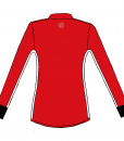 RIO T-shirt L.S.- Red _ black-white-Unisex_BACK
