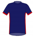 RIO T-shirt- Marine_ Red-White-Unisex_FRONT