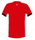 RIO T-shirt- Red_ Black-white-Unisex_BACK