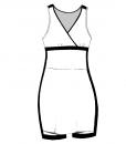 SARAH-Combat Dress-White-black-Woman_FRONT