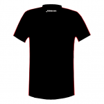 Melbourne T-shirt white-black-red_BACK