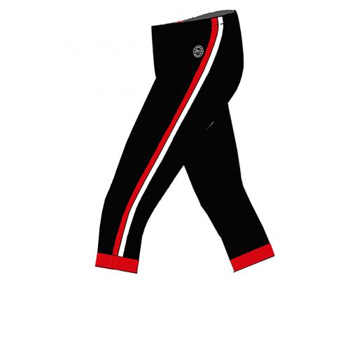RIO Capris_Black_ red-white-Unisex_SIDE