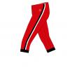 RIO Capris_Red_ black-white-Unisex_SIDE