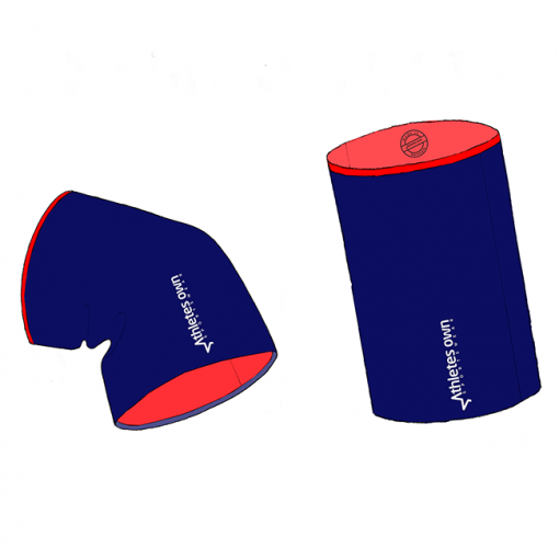ColdFighter – Basic Mareblue-Red – Head and Neck Warmer