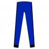 Tights-Rio x-Royal blue-sort-BACK
