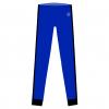 Tights-Rio x-Royal blue-sort-FRONT