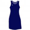 Supporter – Kjole- marine-hvid- FRONT